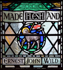 MADE FLESH AND (Agnus dei by William Aikman, 1936)