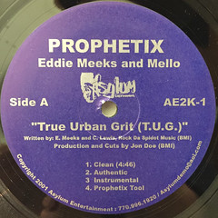 PROPHETIX::THE URBAN GRIT(T.U.G.)(LABEL SIDE-A)
