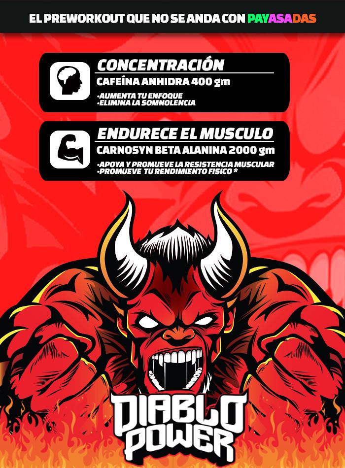 Diablo Power pre Entrenador