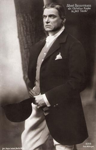 Albert Bassermann in Der Snob (1914)