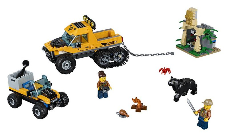 LEGO City Jungle Halftrack Mission (60159)