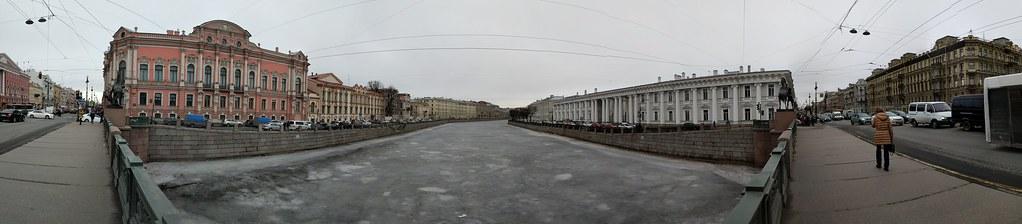 Панорама снятая на Google Pixel