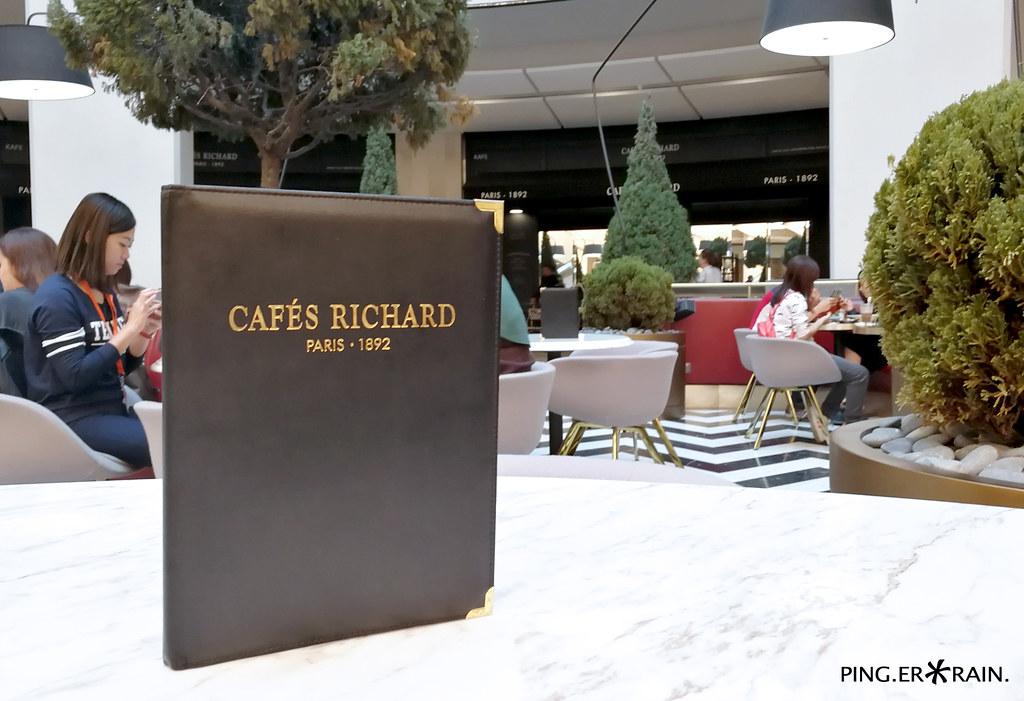 Cafe Richard Menu