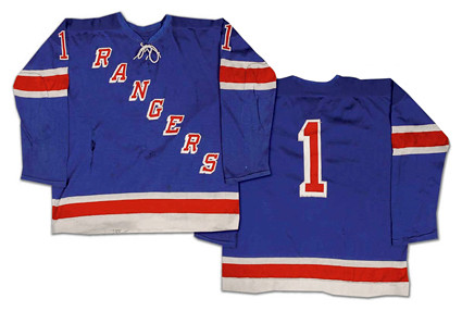 New York Rangers 1968-69 jersey