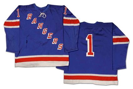 New York Rangers 1968-69 jersey