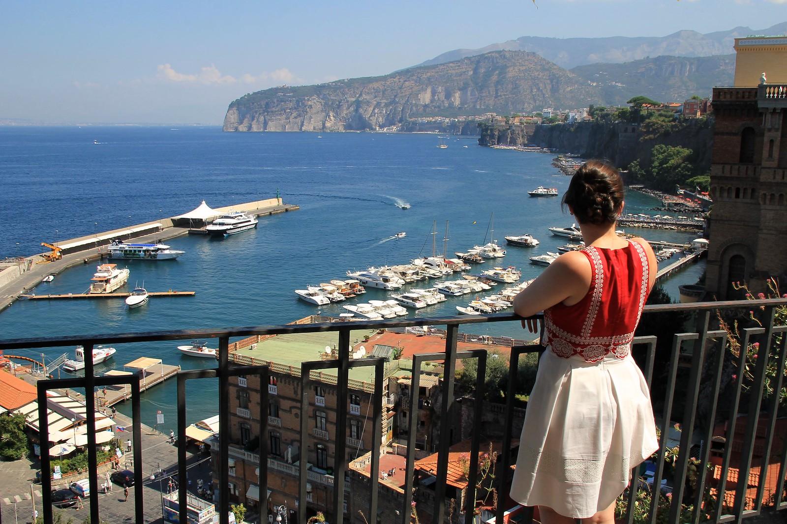 Sorrento Italy travel blogger UK