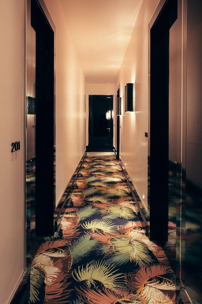 Elegant hotel Saint-Marc in Paris by the Milan design agency DIMORESTUDIO Sundeno_09