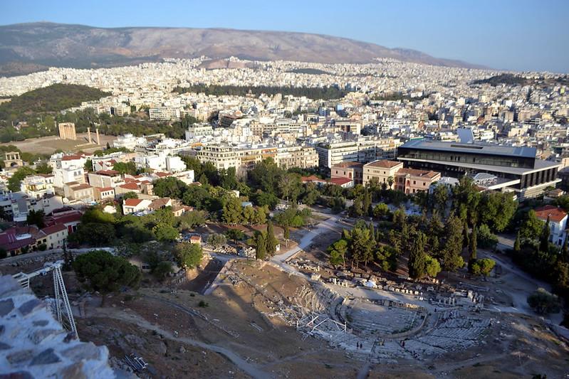 vista museo acrópolis