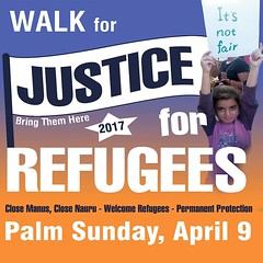 Walk for Justice for Refugees 2017