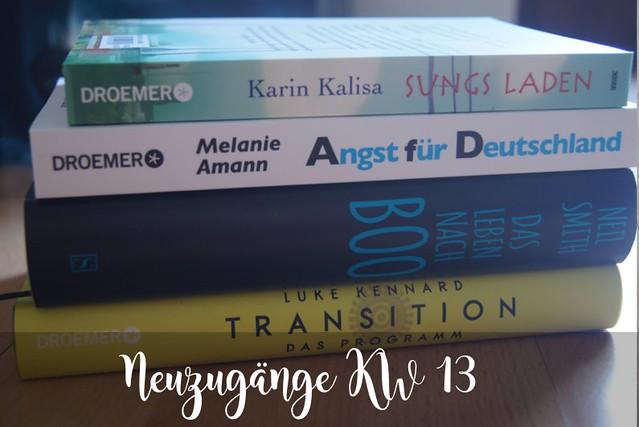 Neue Bücher KW 13 (2017)
