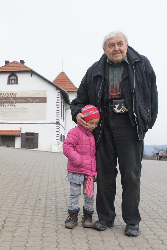 Mr. Zoltán Kallós, Transylvania Region,ROMANIA