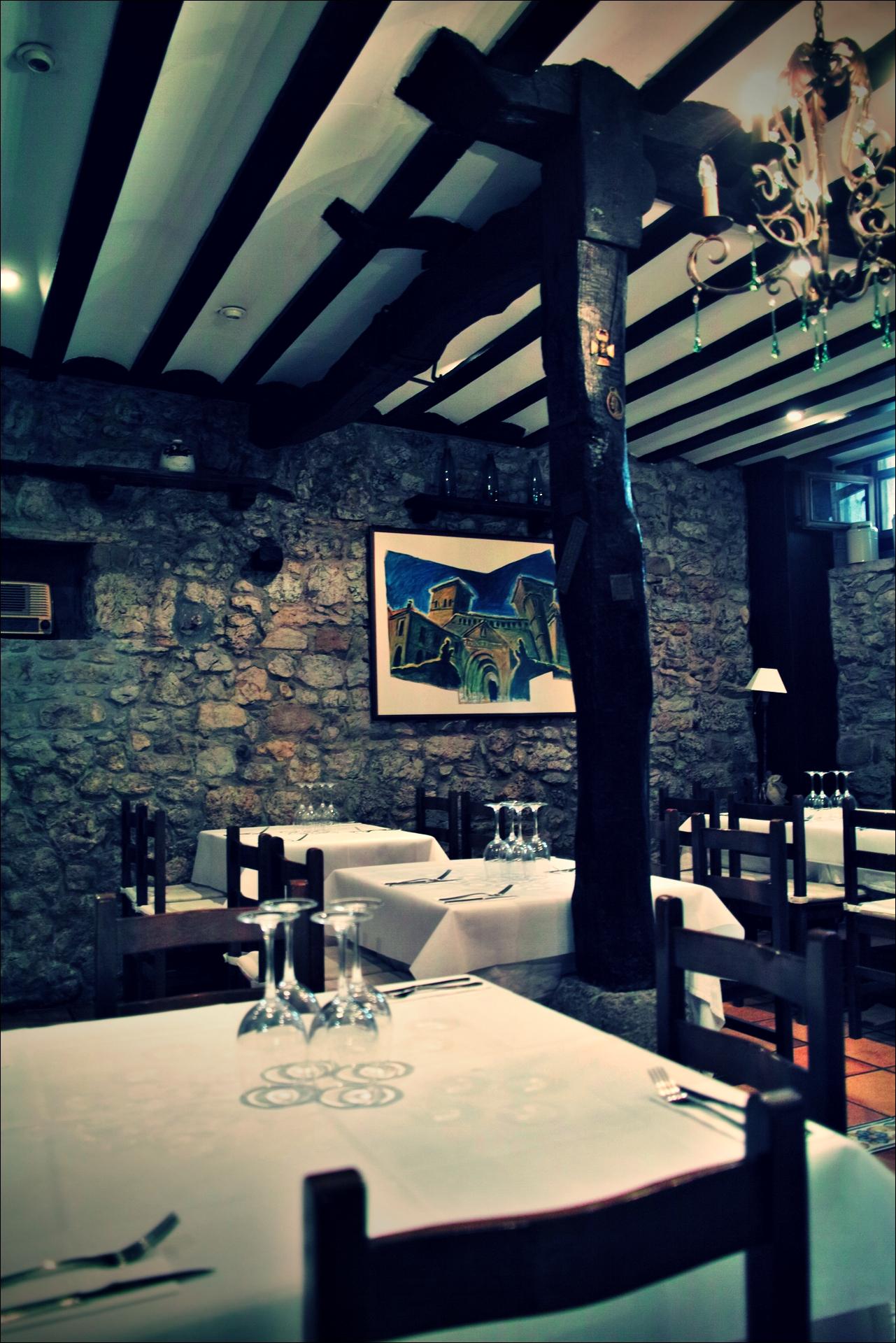 식당-'산티야나 델 마르(Santillana del Mar, Spain)'