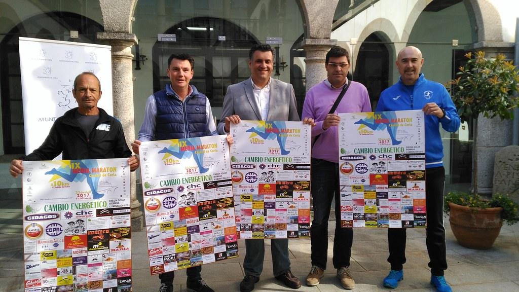 """La IX Media Maratón """"Ciudad de Coria"""" contará con premios en metálico y nuevo circuito"""
