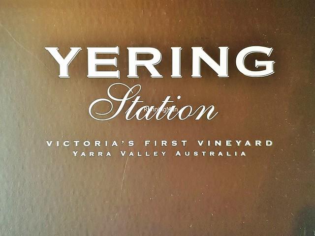 Yering Station Signage