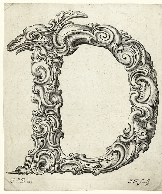 005-Letra D-Libellus Novus Elementorum Latinorum -J. C. Bierpfaff-  Rijksmuseum
