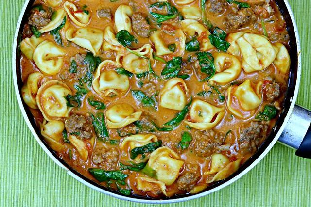 Venison Sausage Tortellini