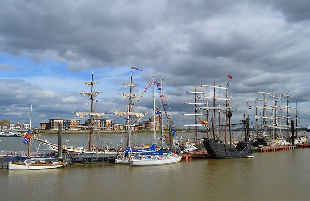 Tall Ship (56) @ River Thames 13-04-17