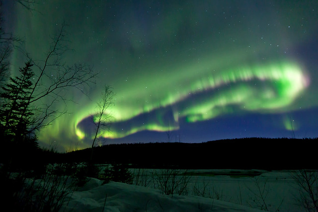 042017 - A Lasso of formed of Aurora Borealis