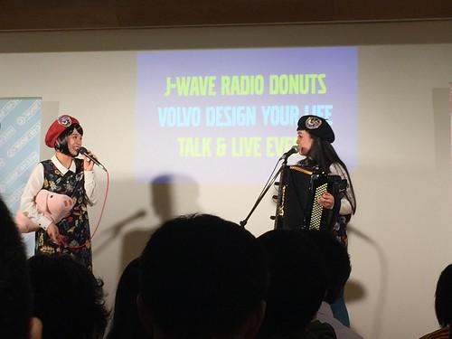 J-WAVE RADIO DONUTS公開収録 ゲスト:チャラン・ポ・ランタン