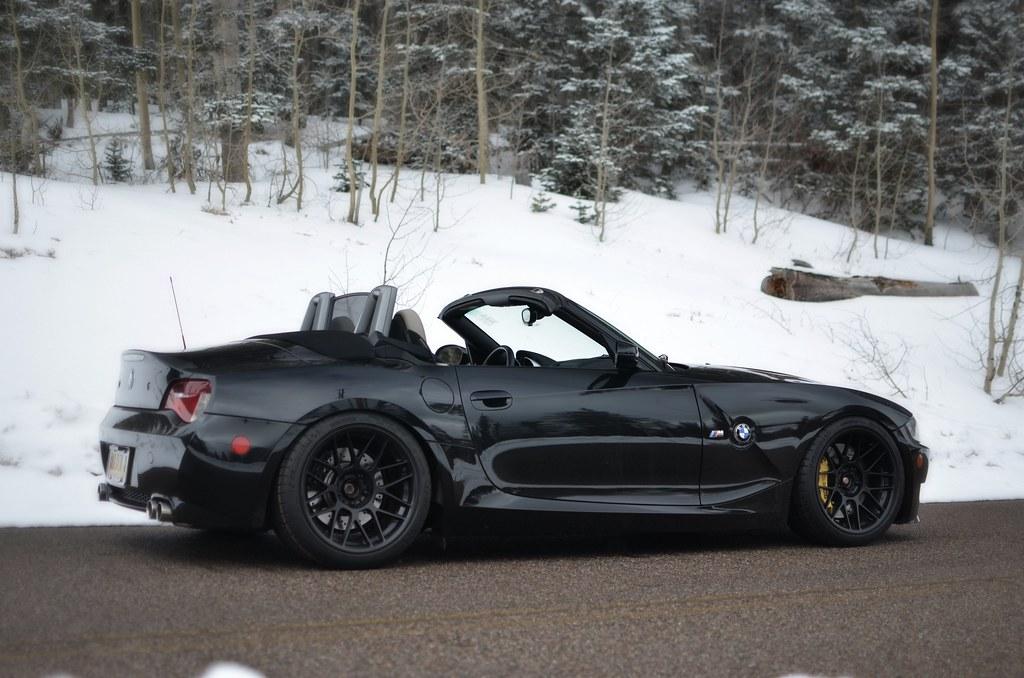 Black Z4m With 18 Quot Arc 8 Wheels Black Z4 M Convertible