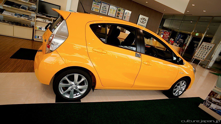buying a car in japan our first stop is a toyota showroom flickr. Black Bedroom Furniture Sets. Home Design Ideas