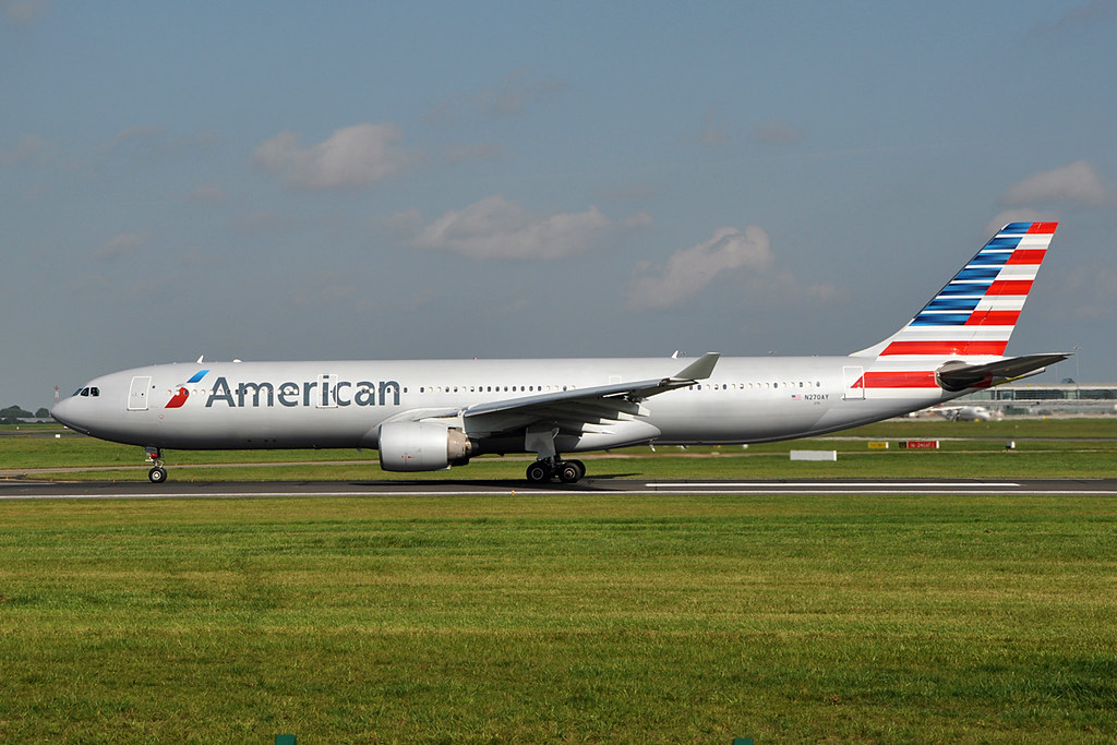 N270ay A330 323x American Airlines 22nd September 2014