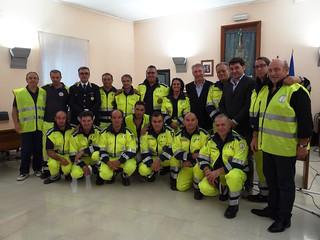 Il Gruppo Comunale della Protezione Civile di Turi