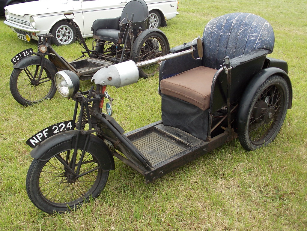 1949 Argson Invalid Carriage Pickering Traction Engine Ral Flickr