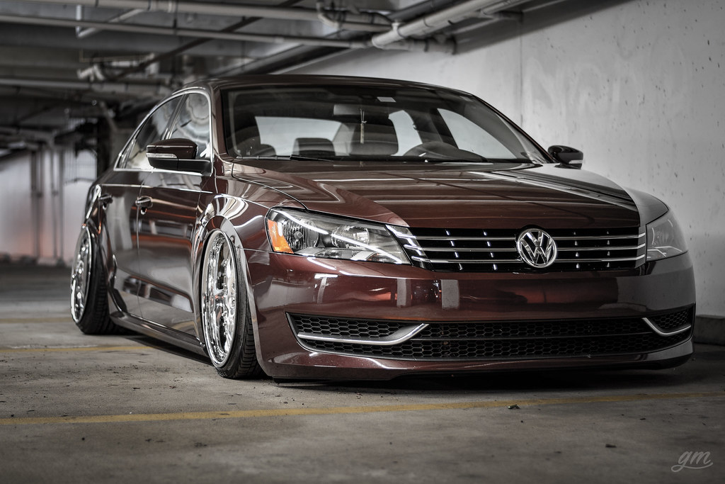 Carlos b7 passat tdi bagged on vip modular vr12 | Carlos (@q… | Flickr