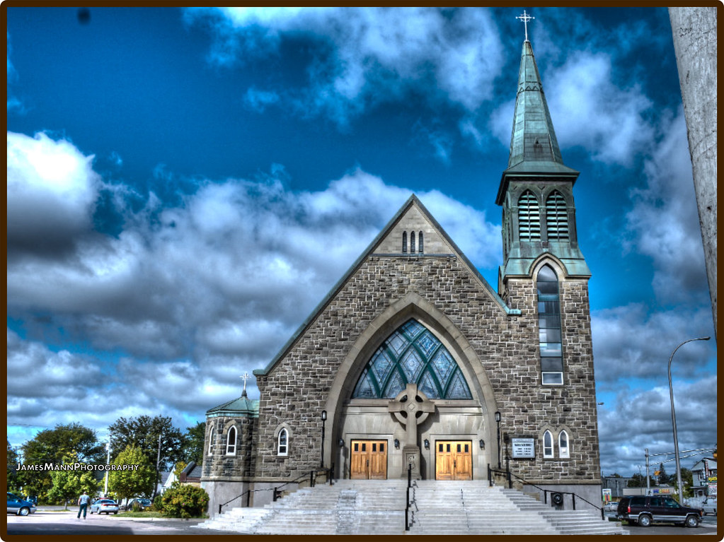 St Augustine S Church Moncton This Church Is Just Up