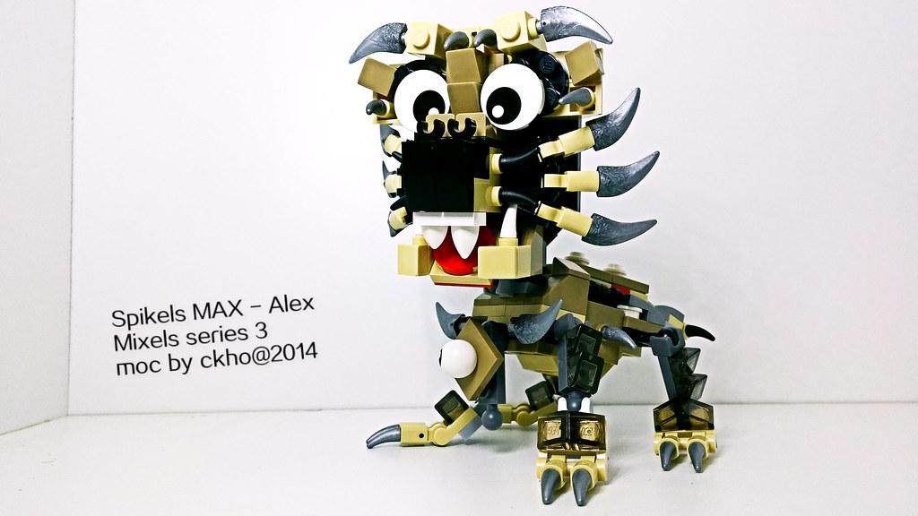 Spikels Max Alex Mixels Series 3 Moc By Ckho 2014 Ck