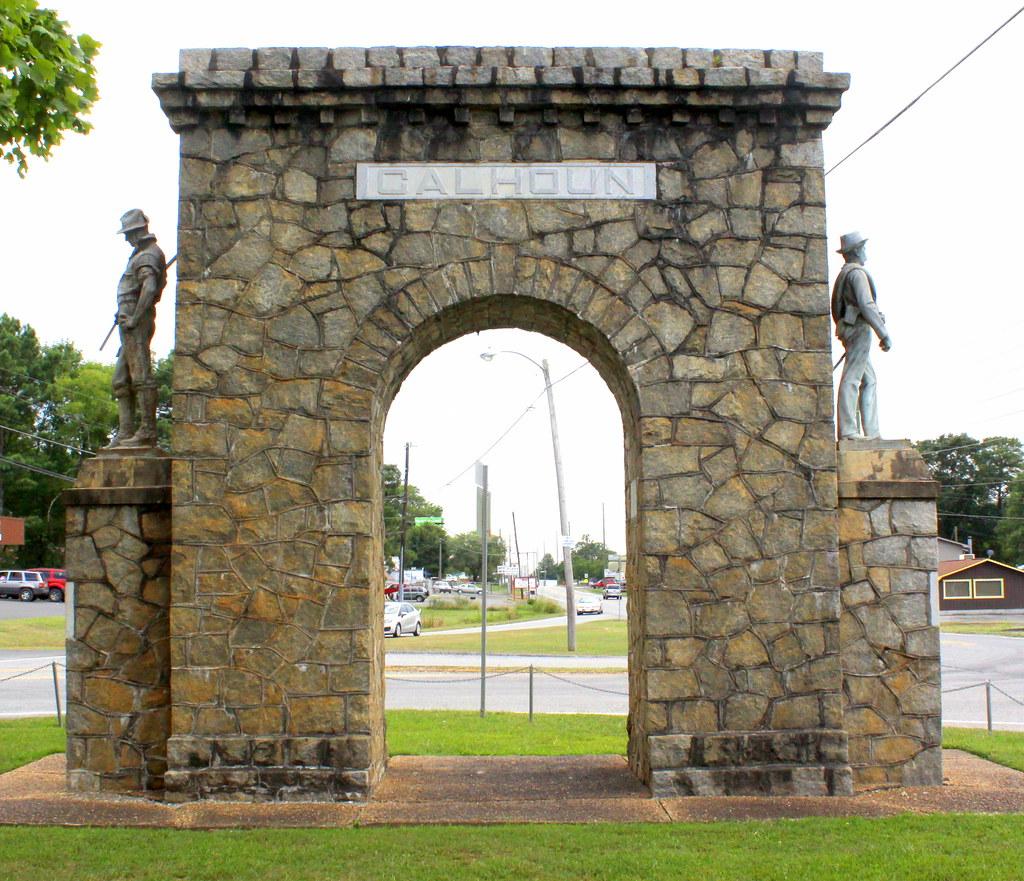 Calhoun GA Memorial Arch
