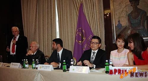 Пресс-конференция Поднебесного бала