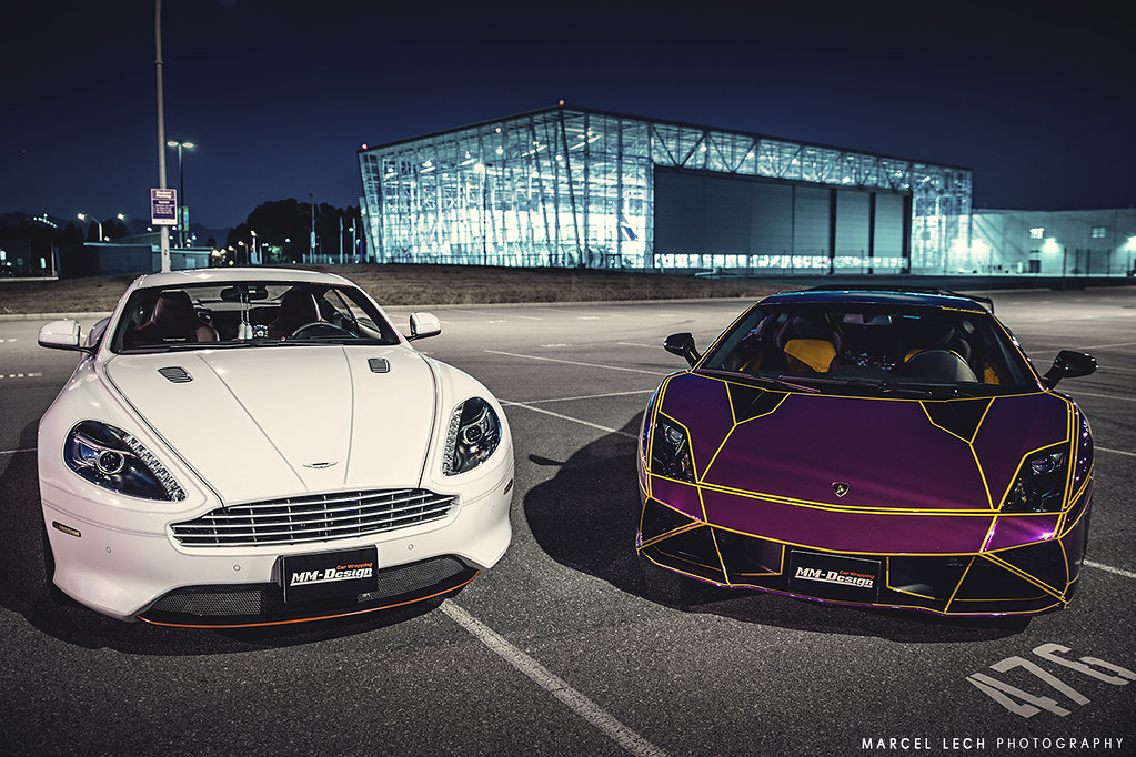 Aston Martin X TRON Lamborghini | Like my Facebook page! | Flickr