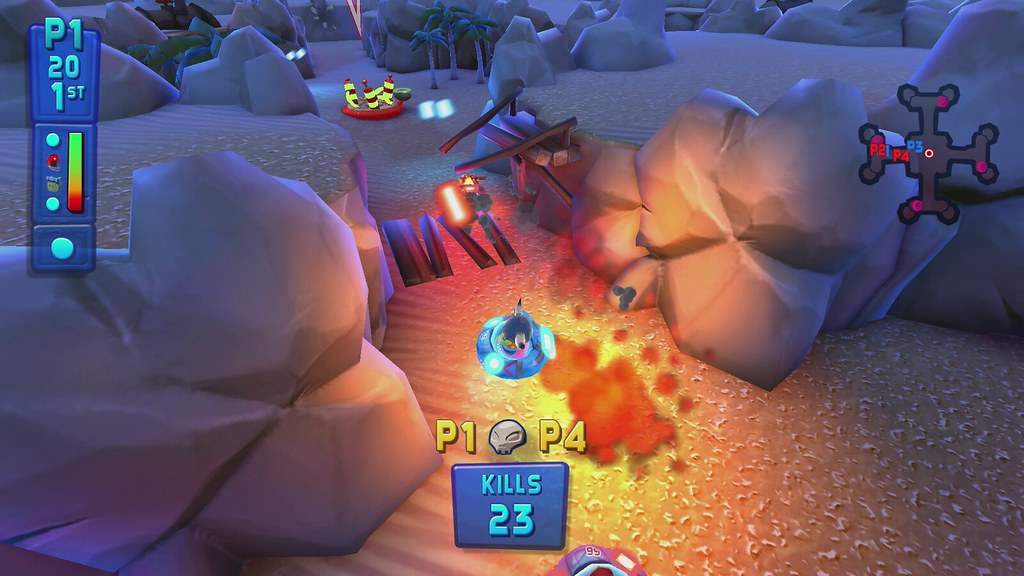 Fluster cluck couch co op shooter fluster cluck coming for Couch coop ps4