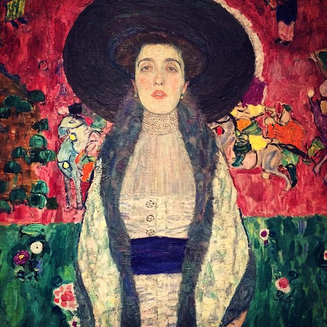 Adele Bloch-Bauer II (1912) #klimt #moma #nyc | Edgardo ... Klimt Adele Bloch Bauer Ii