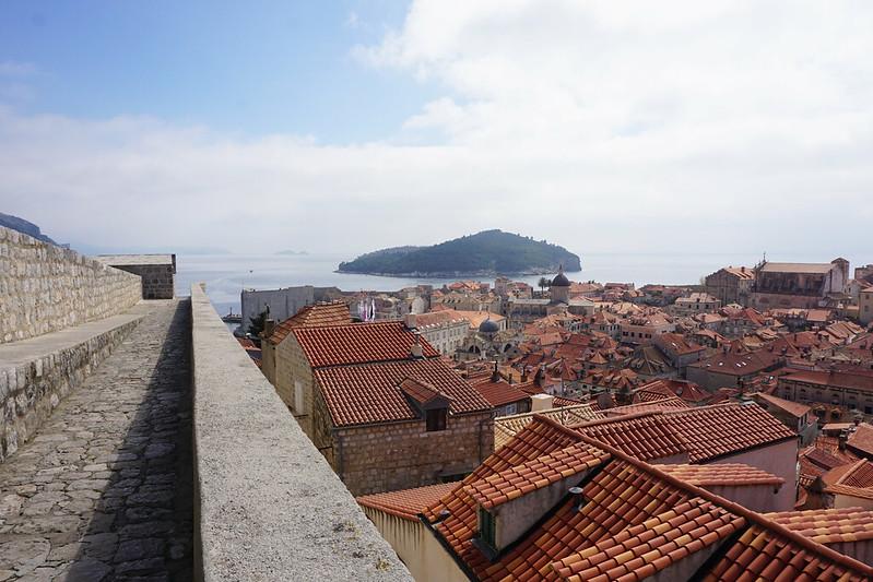 Dubrovnik isle view