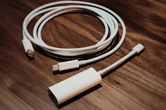 USB-CのThunderbolt2アダプタで新しいMacに移行アシスタントした!