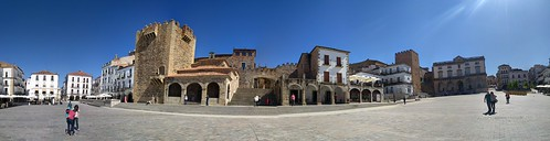 Plaza Mayor - Caceres, Spain