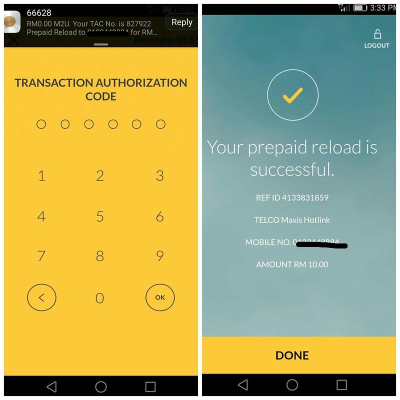 Aplikasi Maybank Berwajah Baru