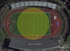 27 Track, Rekjavik Stadium, Iceland 100M