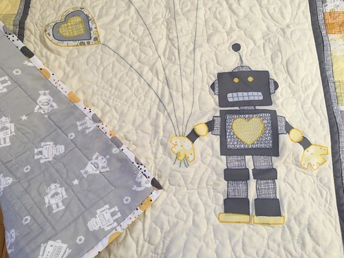 Robot Quilt | by hopers