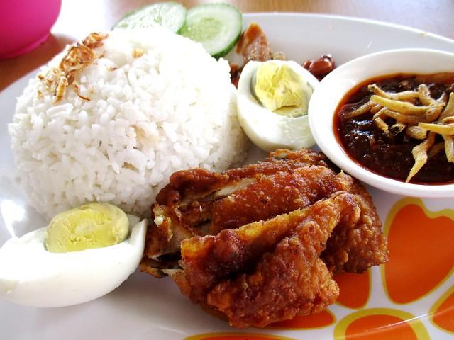 Noor Satay & Food Delight nasi lemak special 2