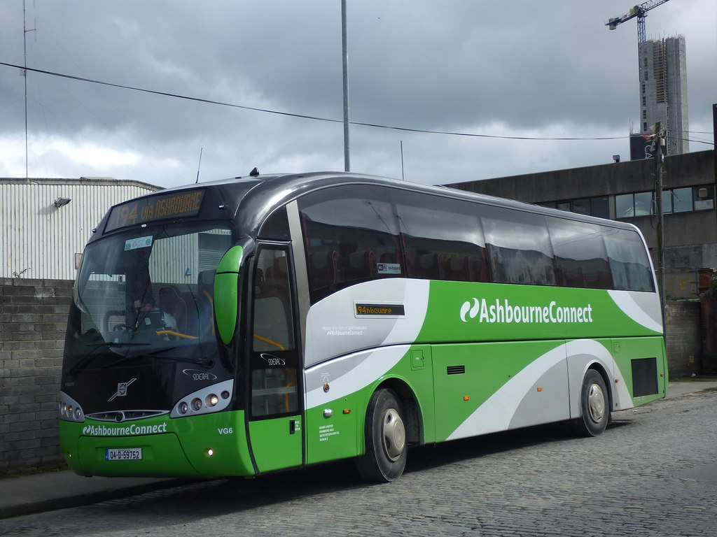 Bus To Ashbourne From Dublin City Centre