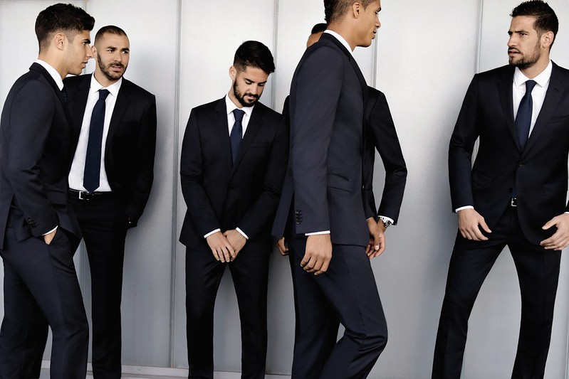 Hugo Boss dresses Real Madrid