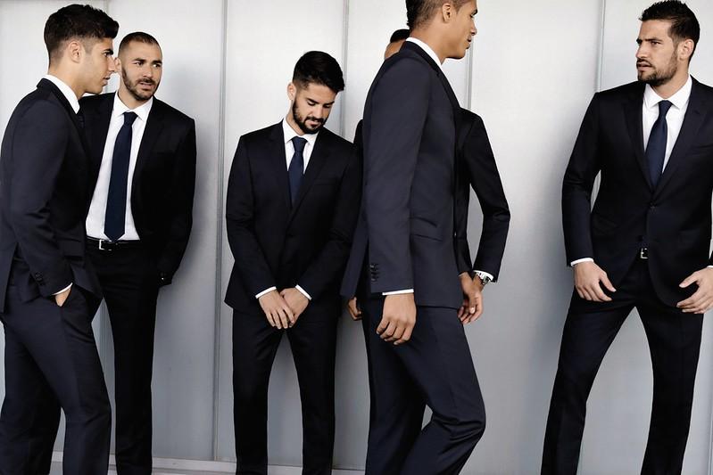 Hugo Boss dresses Real Madrid