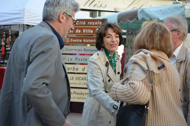 Marisol TOURAINE à Loches & Saint-Avertin