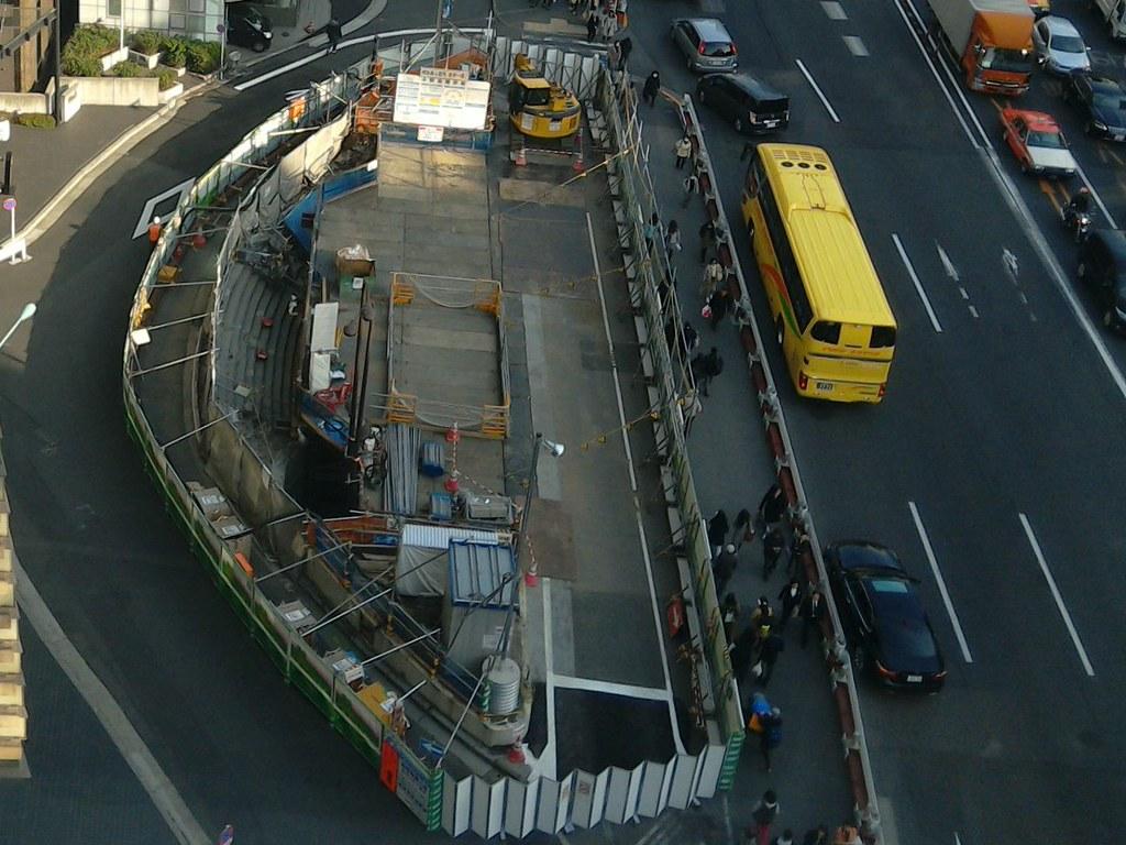 三原橋地下街解体中 (2)