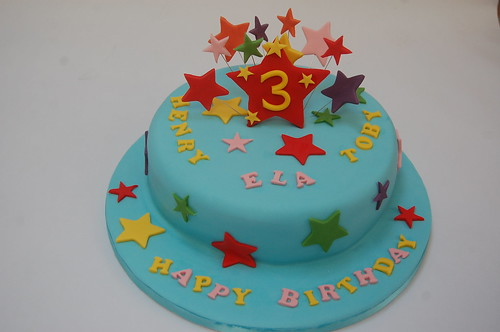 Star Cake Beautiful Birthday Cakes