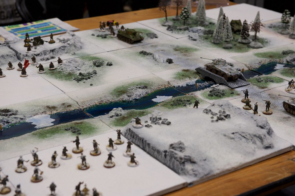 WW2 Soviets vs. Germans in Pedion's modular table